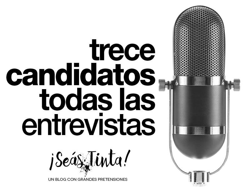 Entrevistas a los candidatos y candidata a la presidencia de Costa Rica