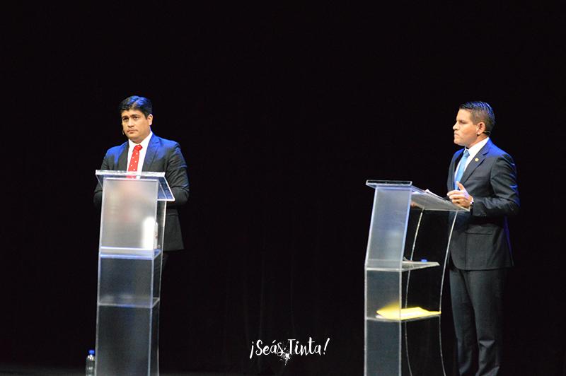 Debate entre el PAC y el PRN